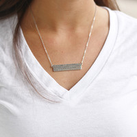 The Day Maker Necklace in Silver