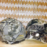 Hunter - Fitted Baseball Hat - Camo