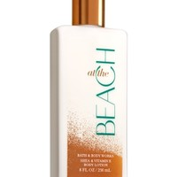 Body Lotion At The Beach