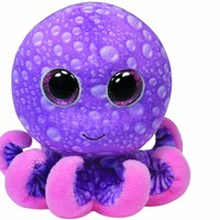 Ty Beanie Boos Legs Purple Octopus Regular Plush