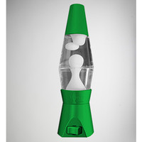 Neon Green with White Lava LED Night Light Lava Lamp