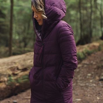 puffy blanket jacket | women's outerwear | lululemon athletica