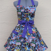 Star Wars Apron - Sexy Comic Strip Vintage- Full of Flounce-
