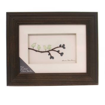 Home Decor FOUR OF A KIND WALL ART Wood Sharon Nowlan Family 1004370029
