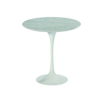 Tulip Style Side Table - Marble Top