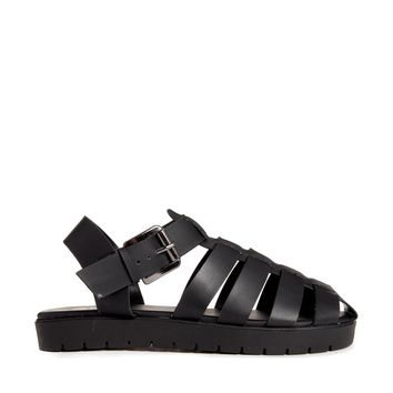 Truffle Gladiator Cleated Flat Sandals