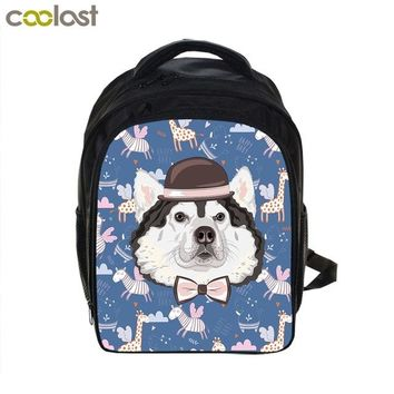 Boys Backpack Bag Cartoon School Bags for Girls Owl  Funny Dog Kids Bag Schoolbag Casual Children Book Bags mochila infantil AT_61_4