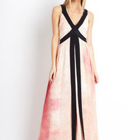 ideeli | TWINKLE BY WENLAN Highway Maxi Dress