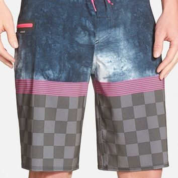 Men's Quiksilver 'AG47 Check Trip' Board Shorts,