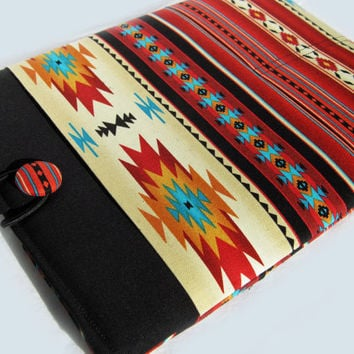 Macbook Air Sleeve, Macbook Air Case, Macbook Air 11 inch Cover, Macbook Air 11 Inch Case, Laptop Sleeve, Red Southwest