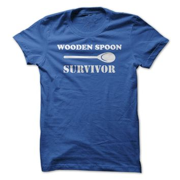 Wooden Spoon Survivor - On Sale