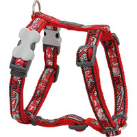 Red Dingo Designer Dog Harness - Bandana (Red)