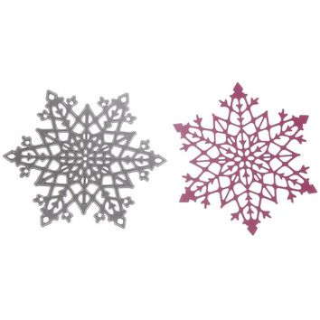 Drawing Steel Cutting Stencil Scrapbooking Card Craft Beauty Snowflake Dies