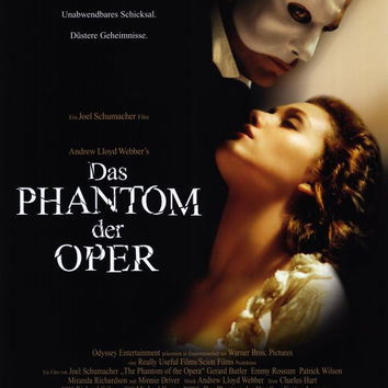 The Phantom of the Opera (German) 11x17 Movie Poster (2004)
