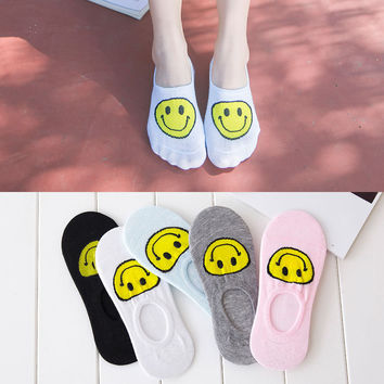 Cotton Summer Transparent Lovely Socks [6364144580]
