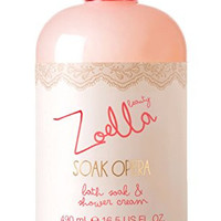 Zoella Beauty Soak Opera Bath Soak & Shower Cream 490ml