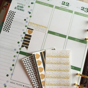 Kate Collection Sticky Page Flags / Planner / ECLP / Erin Condren