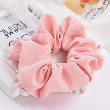 LOVINGSHA 5pcs/lot 7 Colors Accesorios Pelo 2017 Women Hair Tie Scrunchie Ponytail Hair Holder Rope Hair Accessories CH008