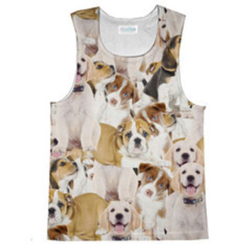 Puppies Sublimated Tank Top