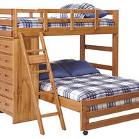 Lexington Twin over Full Storage Loft Bed