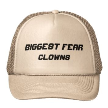 Biggest Fear: Clowns Mesh Hats