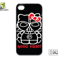 Hello Darth Vader iPhone 4 Case Cover by Avallen