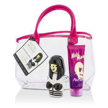 Nicki Minaj Onika Coffret: Eau De Parfum Spray 100ml/3.4oz + Pink Friday Body Lotion 200ml/6.8oz + Bag Ladies Fragrance