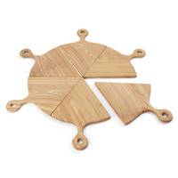 Hip Vintage Pizza Board (Set of 6)