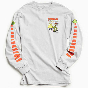 Courage The Cowardly Dog UFO Long Sleeve Tee | Urban Outfitters