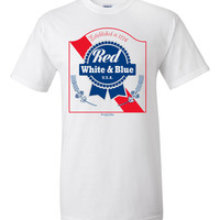 4th Of July - Red, White & Blue Men's T-Shirt