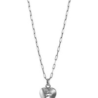 STITCHED HEART NECKLACE   Stitches, Hearts, Sterling Silver, Thomas Mann   UncommonGoods
