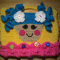 Lalaloopsy inspired children's purse