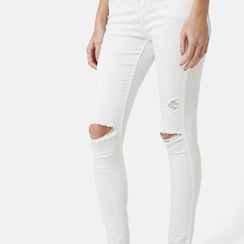 Topshop 'Leigh' Moto Jeans (Petite) | Nordstrom