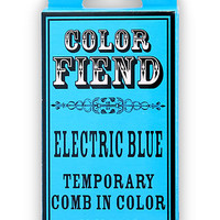 Color Fiend Electric Blue Temporary Comb In Color | Hot Topic