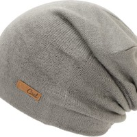 Coal Julietta Charcoal Grey Slouch Beanie