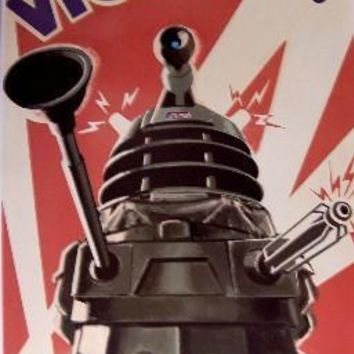 Dr. Who Daleks Victory War-Propaganda Style Poster 16inx24in