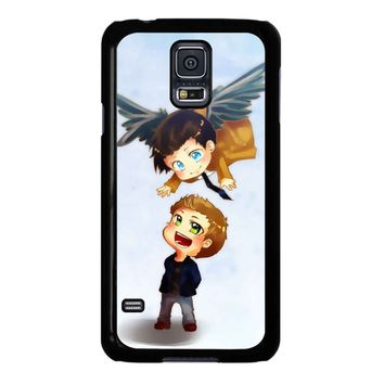 Supernatural Destiel Fanart Samsung Galaxy S5 Case