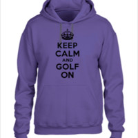 Keep calm and golf on crown