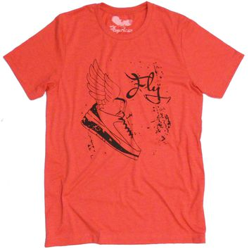 Jordan #2 Winged Sneaker T-shirt 'Too Fly' by American Anarchy Brand