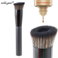 VELA Angled Perfecting Face Brush Premium Foundation Makeup Brush