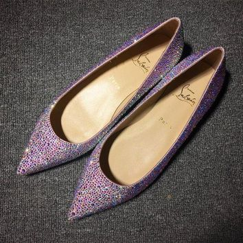 PEAPUX5 Cl Christian Louboutin Flat Style #724