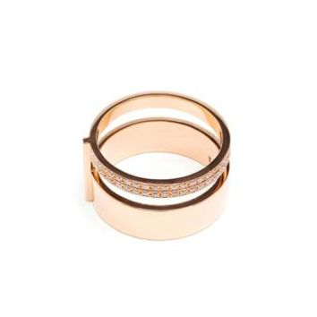 REPOSSI | Berbère 18K Gold Double Ring | brownsfashion.com | The Finest Edit of Luxury Fashion | Clothes, Shoes, Bags and Accessories for Men & Women