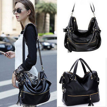 Lady Handbag Shoulder Bags Tote Purse PU Leather Women Messenger Hobo Bag CE12
