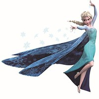Ice Queen wall decal