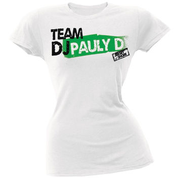 Jersey Shore - Team DJ Pauly D Juniors T-Shirt