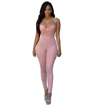 Fashion Rompers Womens Jumpsuit Overalls For Women Bodycon Playsuit Fitness Bodysuit Women Sexy Elegant Jumpsuits Women Rompers