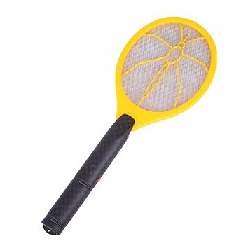 Handheld Electric Three Layer Super Large Mesh Anti Mosquito Flying Swatter Electric Fly Bug Wasp Mosquito Killer