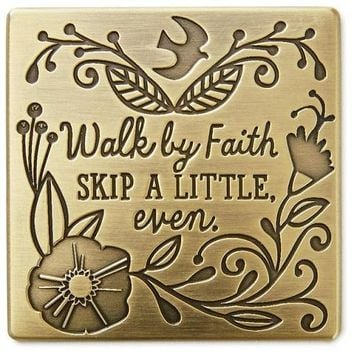 Hallmark Walk By Faith Magnet