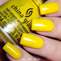 China Glaze Sun's Up, Top Down Nail Polish (Road Trip Collection)