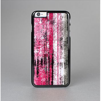 The Vintage Worn Pink Paint Skin-Sert Case for the Apple iPhone 6